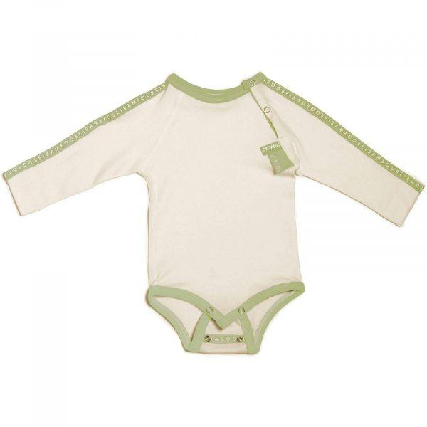 soft rompersuit Baby Grow green gift babyshwer