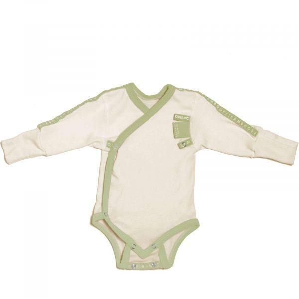 mukava vihreä kietaisubody atooppiselle iholle vauvalle