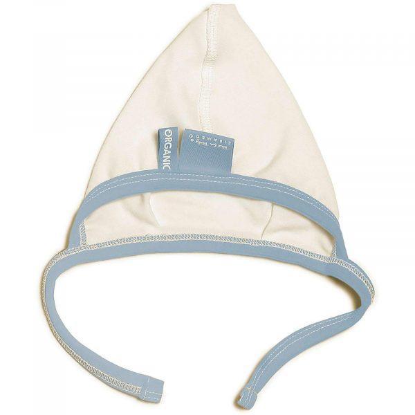 baby bonnet baby boy blue non-allergic